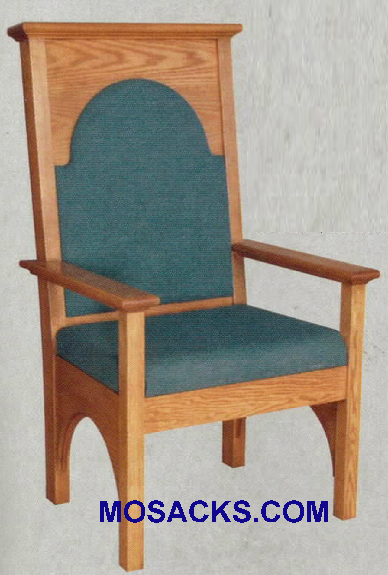 "Celebrant Chair w/ upholstered seat and back 29"" w x 28"" d 50"" h 599"