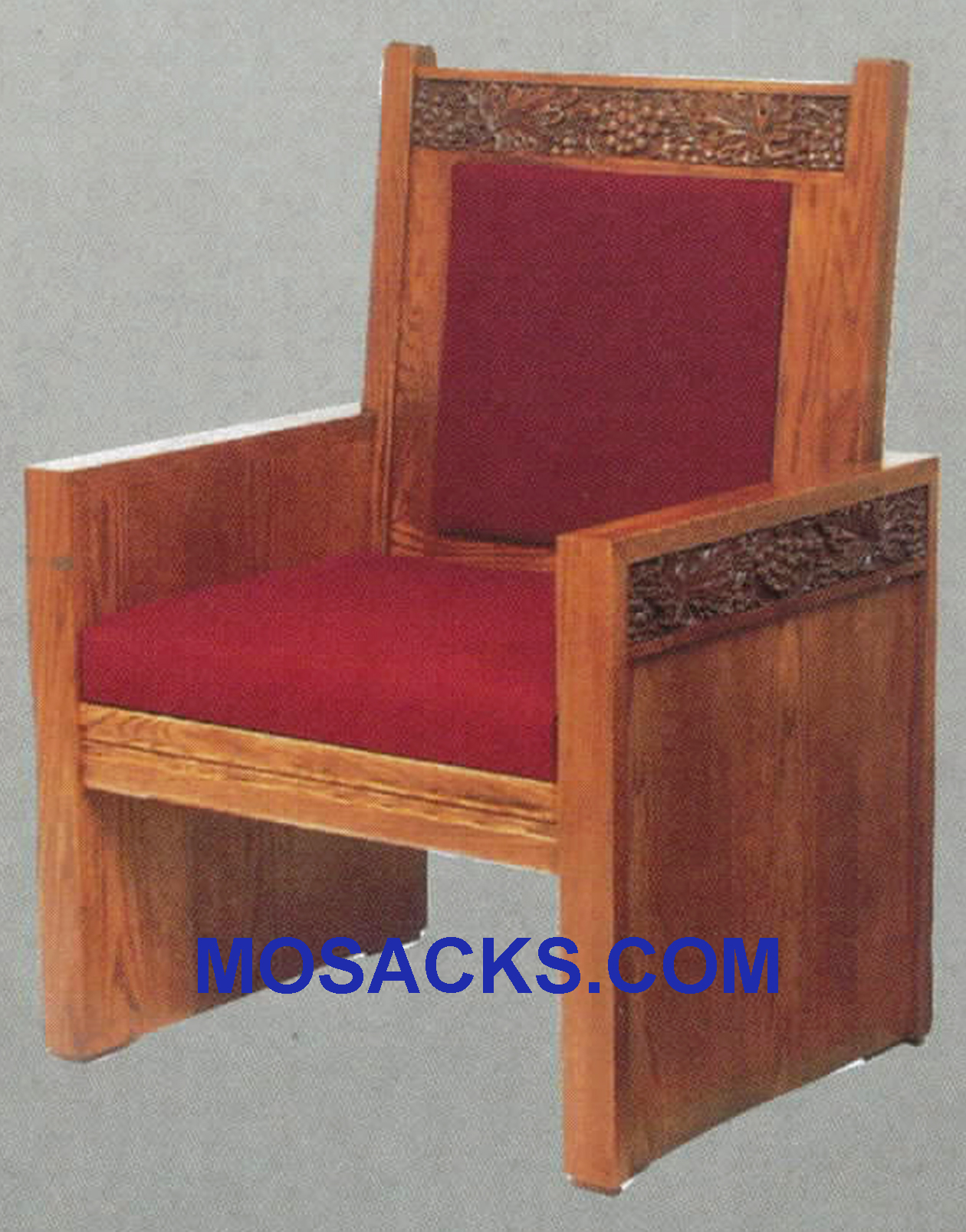 "Celebrant Chair w/ upholstered back and seat 28-1/2"" w x 23"" d 47"" h 684"