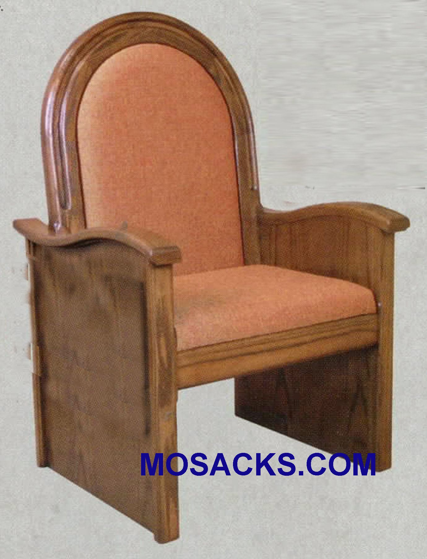 "Celebrant Chair w/ upholstered back and seat 30"" w x 26"" d 56"" h 688"