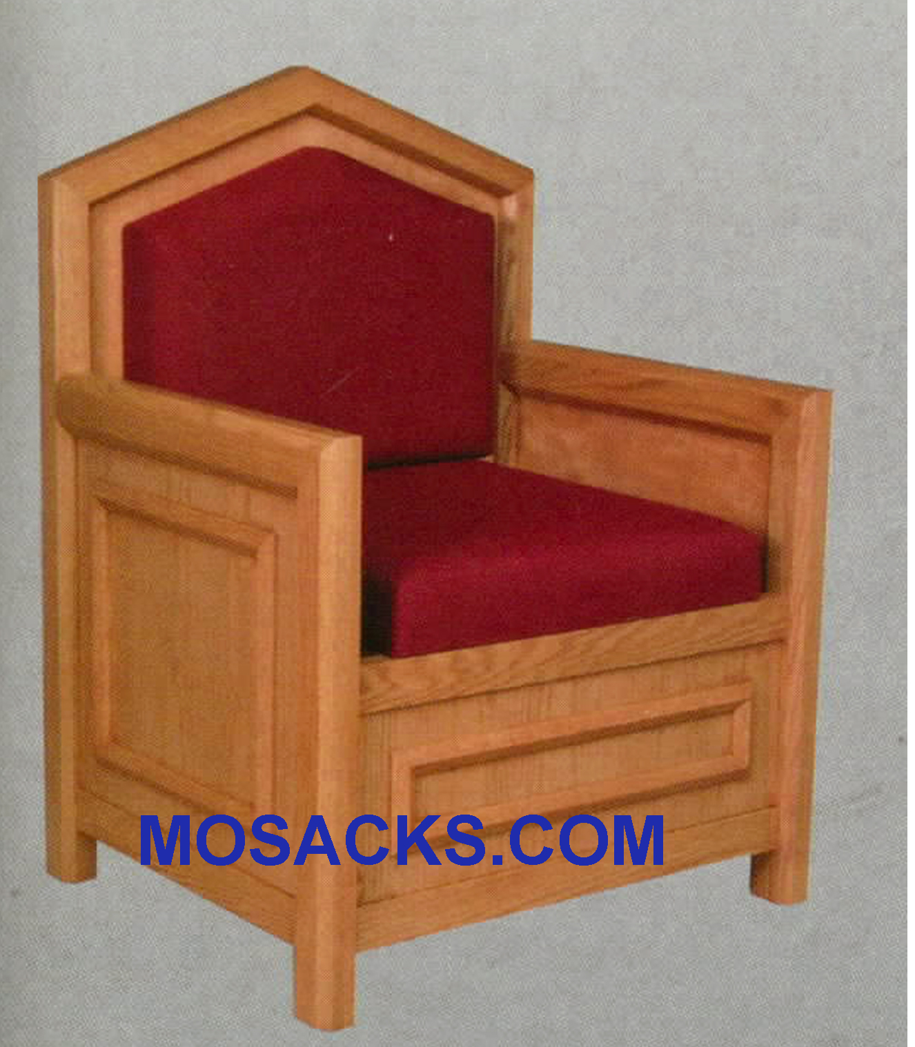 "Celebrant Chair w/ upholstered seat and back 30"" w x 26"" d 48"" h 733"