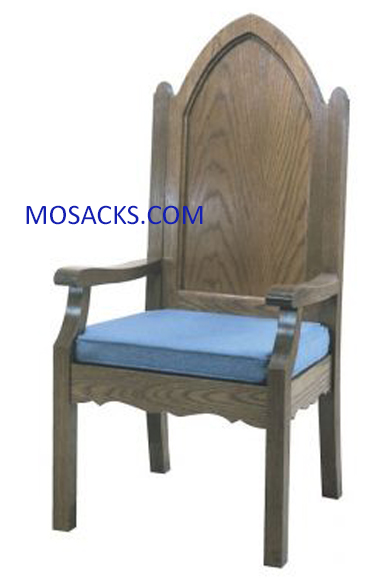 "Celebrant Chair Reversible Cushion 27"" w x 23"" d x 52"" h 40-972A"
