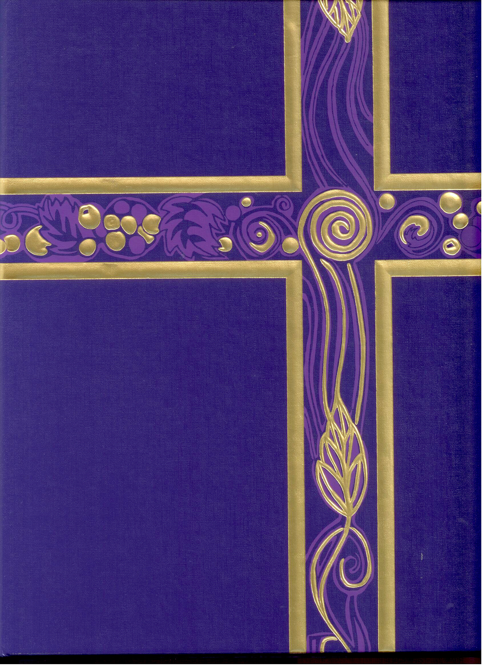 Church Supplies Royal Purple Ceremonial Binder #00629 Church Goods