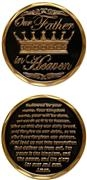 Challenge Coin - The Lord's Prayer 486-2598