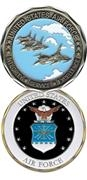 Challenge Coin - United States Air Force 486-2241