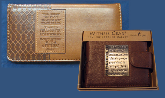 Checkbook Covers & Wallets