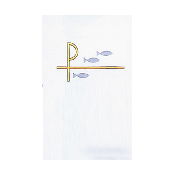 Chi Rho Fish Washable Lectern Hanging-SL9405-L