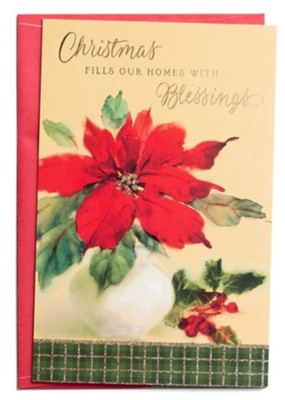 Christmas Fills Our Home WIth Blessings Boxed Christmas Cards-217-J3382