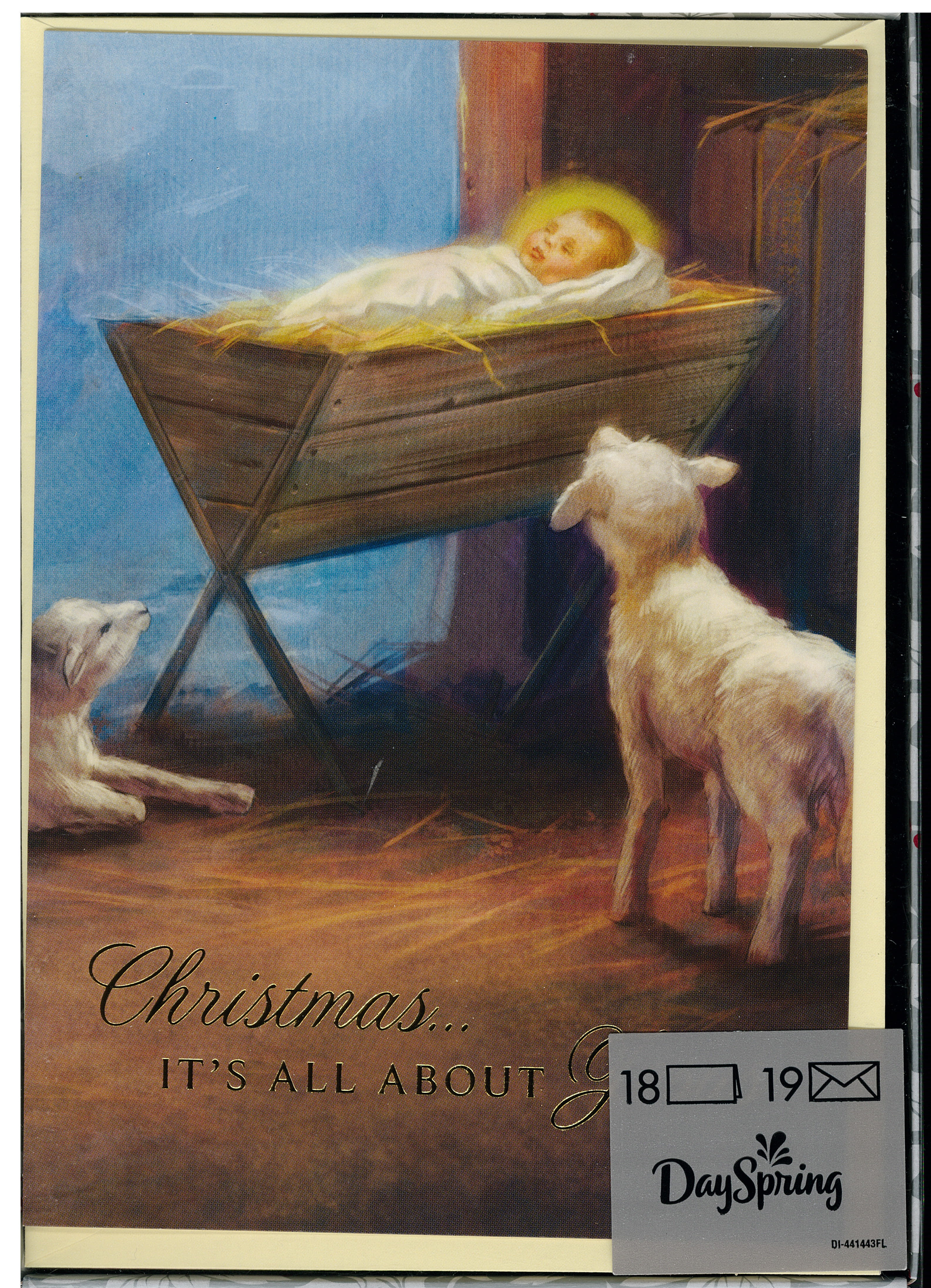 Christmas Is About Jesus Boxed Christmas Cards 217-J3376