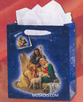 Christmas Nativity Medium Gift Bag GB-805M
