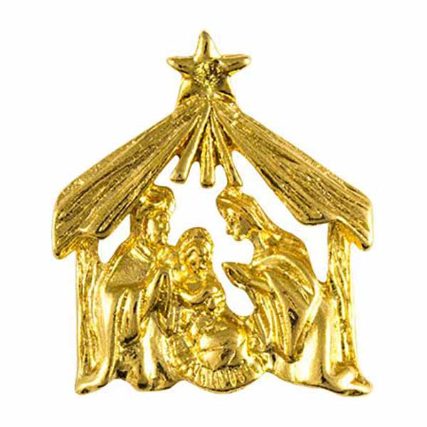 Christmas Nativity Pin, MM396