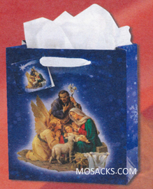 Christmas Nativity Small Gift Bag GB-805S