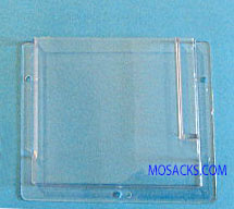 Clear Plastic Pew Rack w/Pencil Holder #RU235P