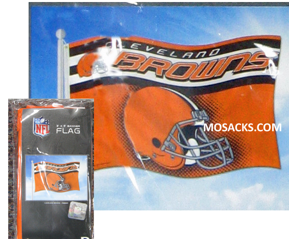 Cleveland Browns 3x5 Banner Flag -FGB2801