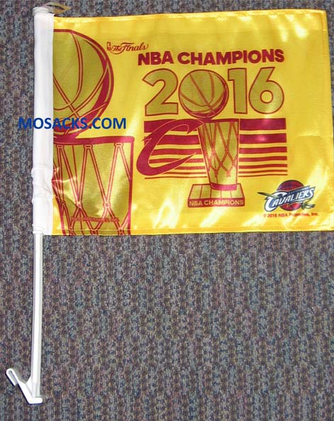 Cleveland Cavaliers NBA Champs Auto Flag-FG730WC16