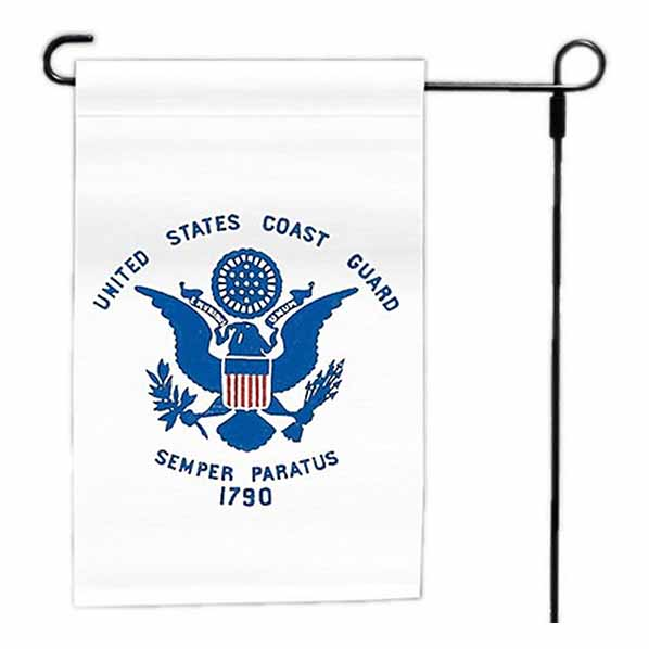 Coast Guard 12x18 Inch Garden Flag-12236940