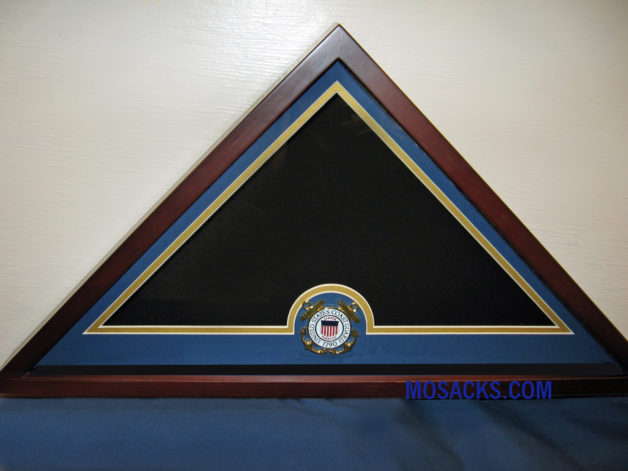 Flag Display Case with Coast Guard Medallion #28500