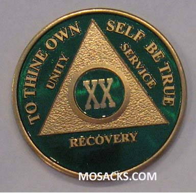 Anniversary Recovery Coin Yearly Color on Gold 293-1126189504