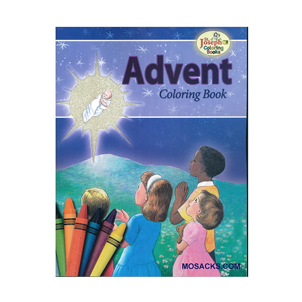 Coloring Book About Advent-978089942690-7