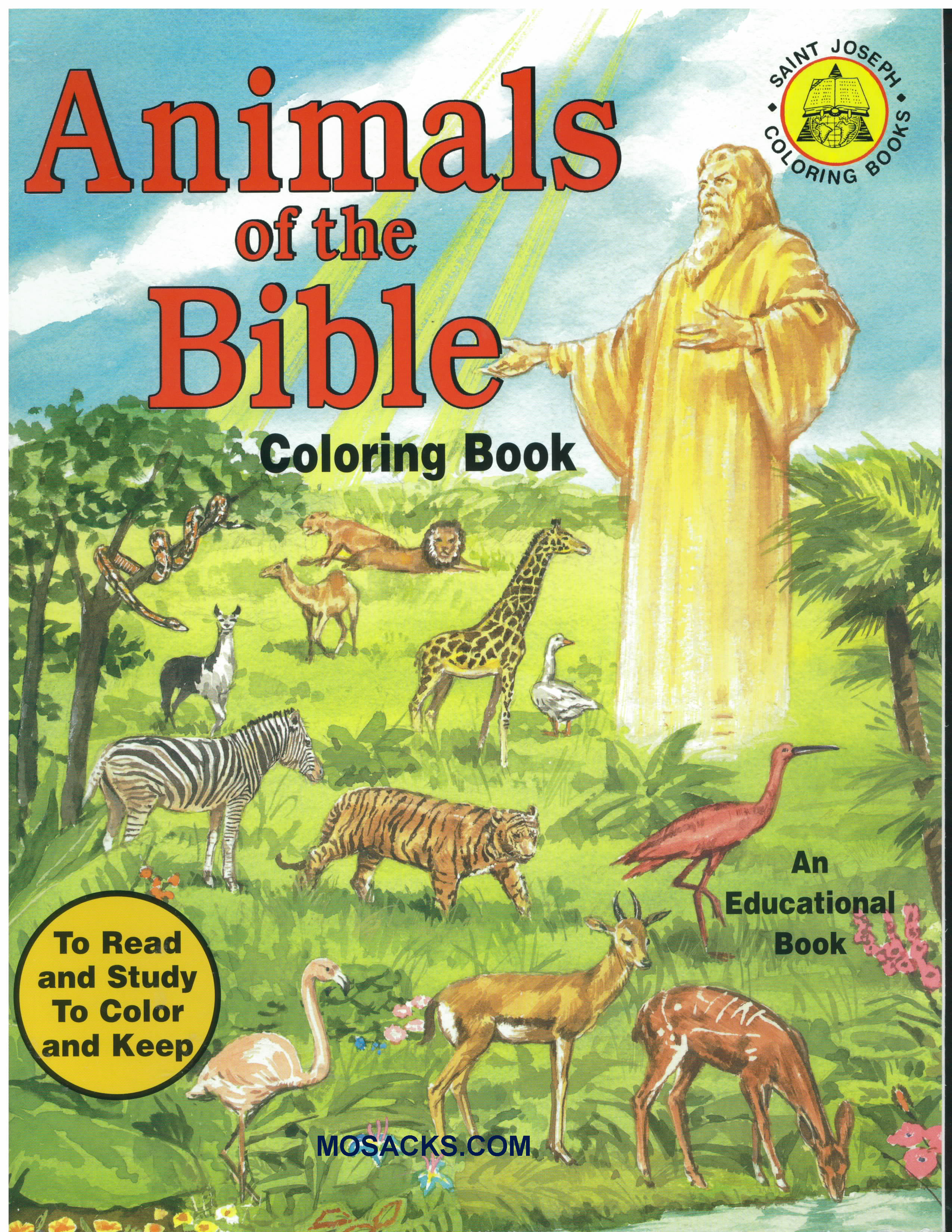 St Joseph 32 page Coloring Book Animals Of The Bible-678