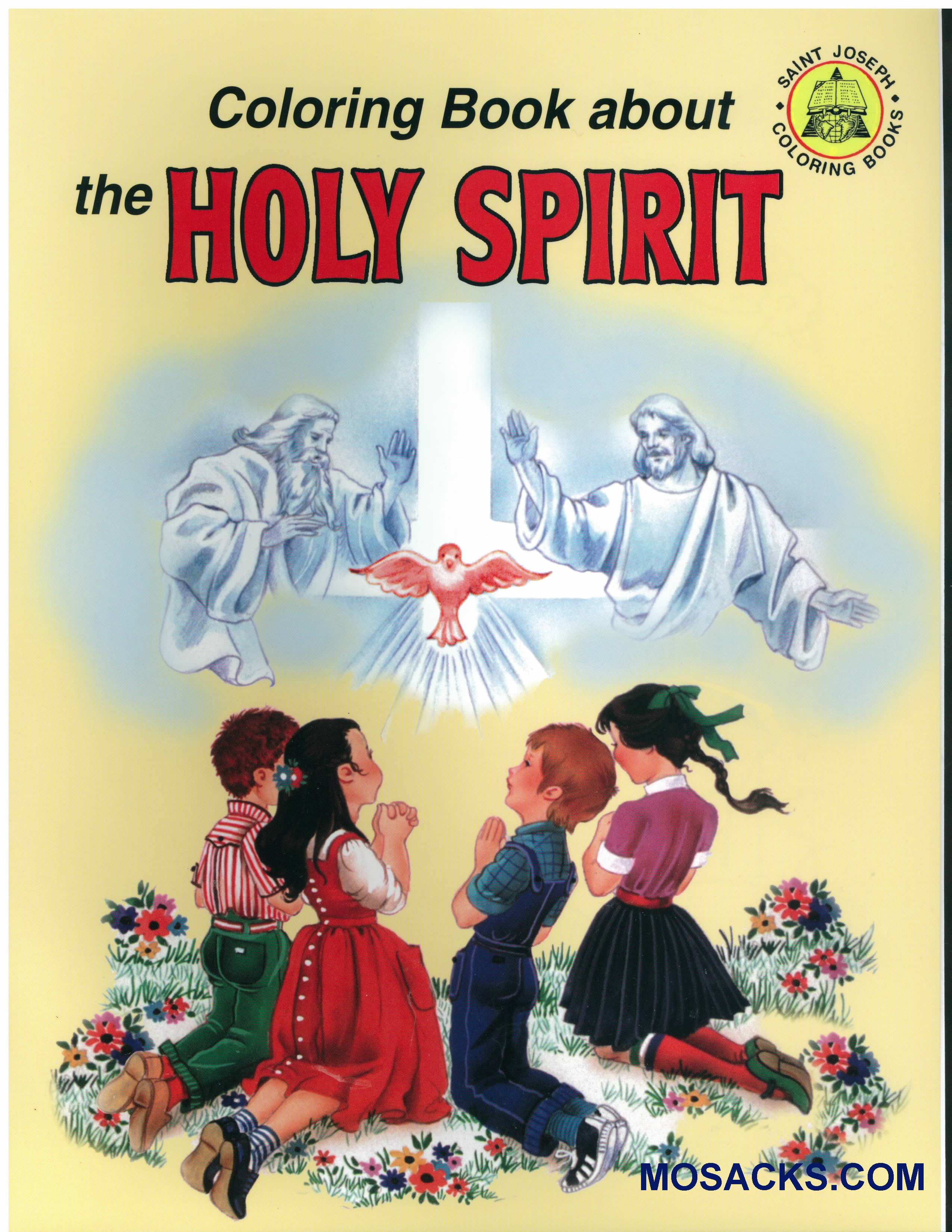 Coloring Book About Holy Spirit-978089942698-3