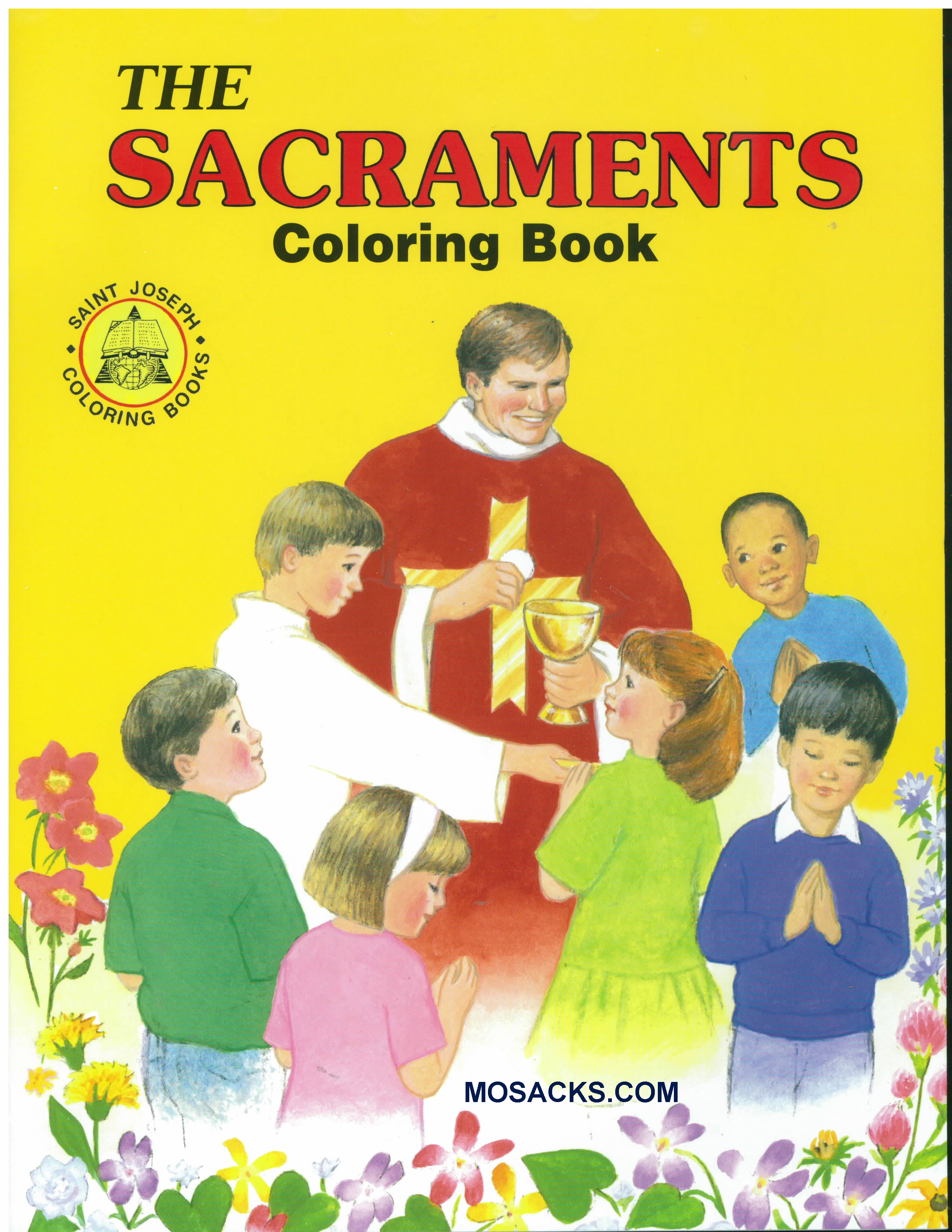 Coloring Book The Sacraments-687