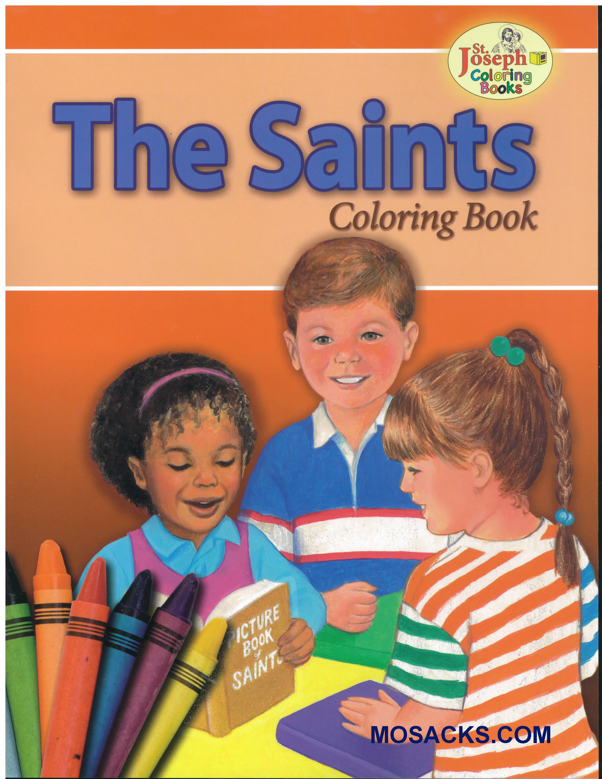 Coloring Book About The Saints-978089942681-5