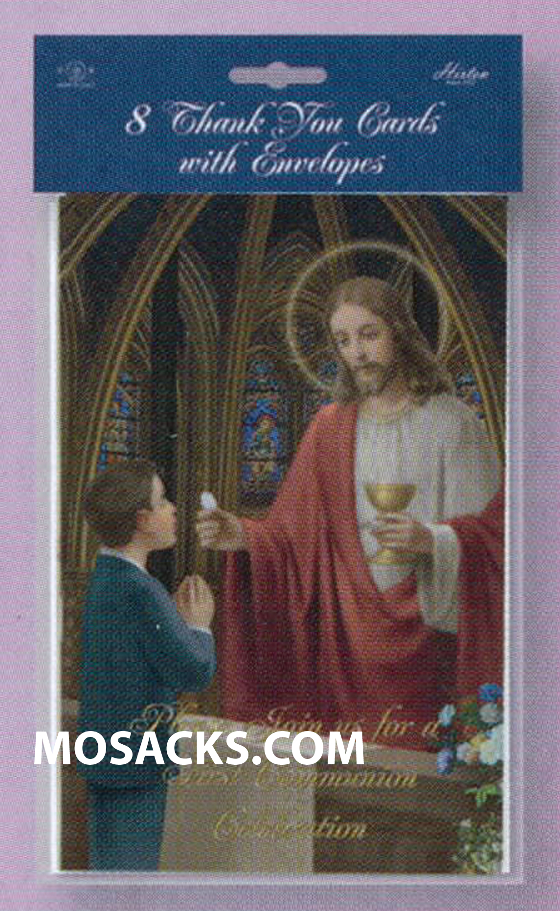 Communion Child Of God Invitations Boy 12-CI674