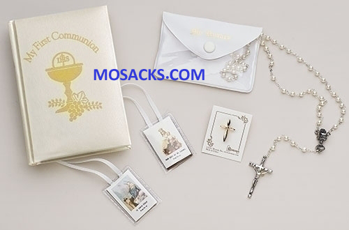 Communion Missal Set 5 Piece for Girl 20-12279