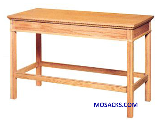 "Communion Table In Remembrance Of Me Wood 48""w x 24"" d x 31"" h 40-4460L"