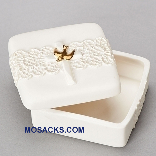 "Holy Spirit Keepsake Box 1.25"" h 11523"
