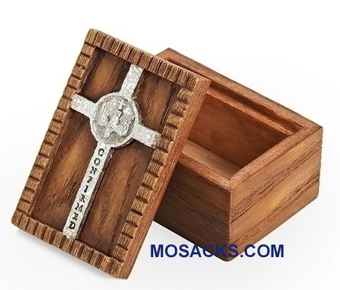 "Confirmation Keepsake Box 1.75"" h x 3"" w 42310"