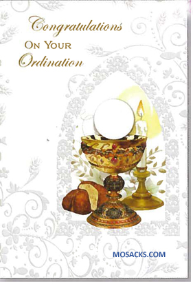 Congratulations On Your Ordination Greeting Card -ORD87109