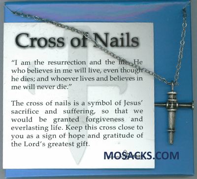 Cross Of Nails Necklace 20-60894