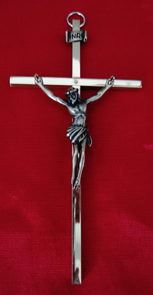 6 inch Gold Wall Crucifix 4590G-G