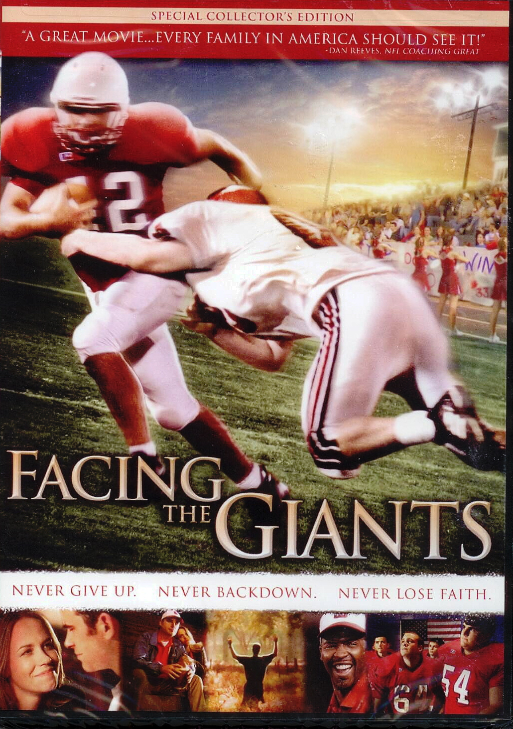 DVD-Facing the Giants, Title; Michael C. Catt, Executive Producer