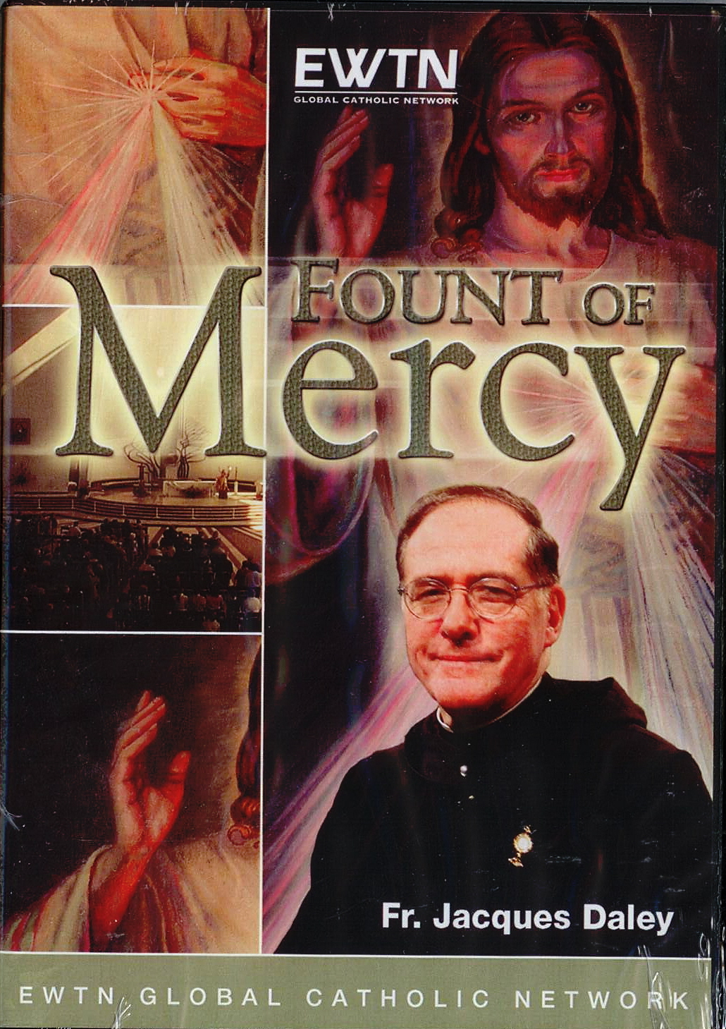 DVD-Fount of Mercy, Title; Fr. Jacques Daley, Lecturer