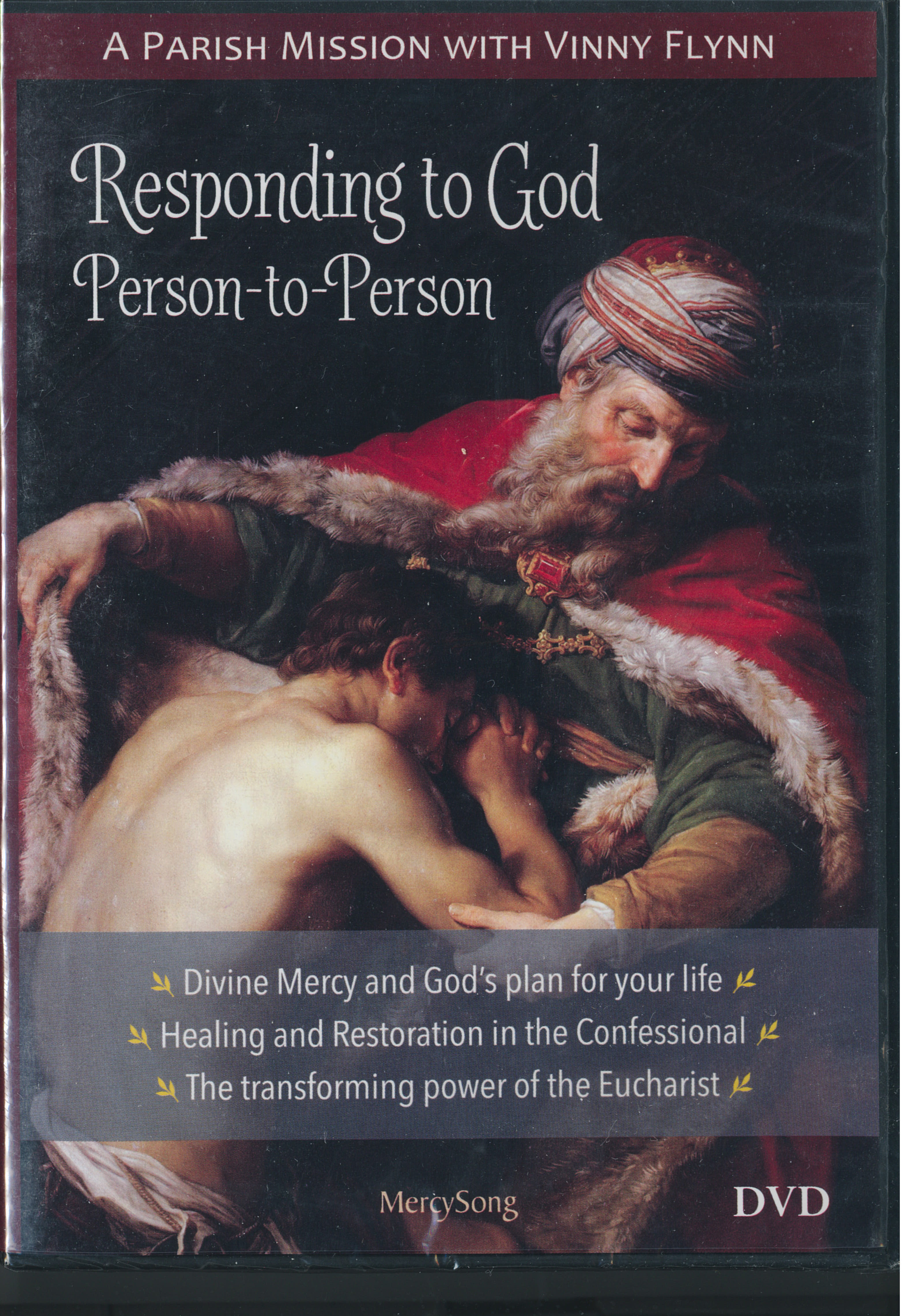 DVD-Responding To God Person-To-Person 9781884479526