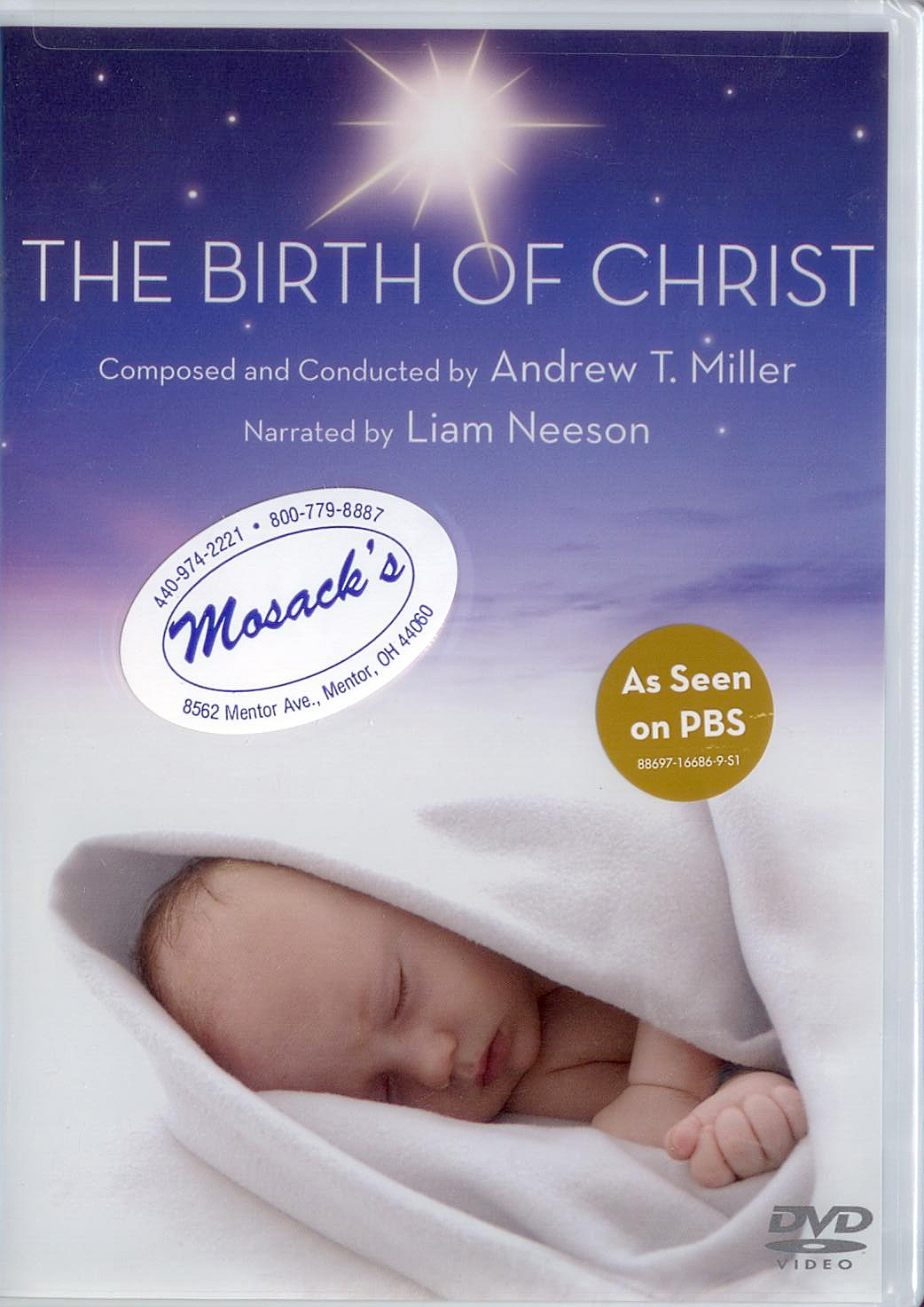 DVD-The Birth of Christ, Title: Andrew T. Miller, Composer/Conductor