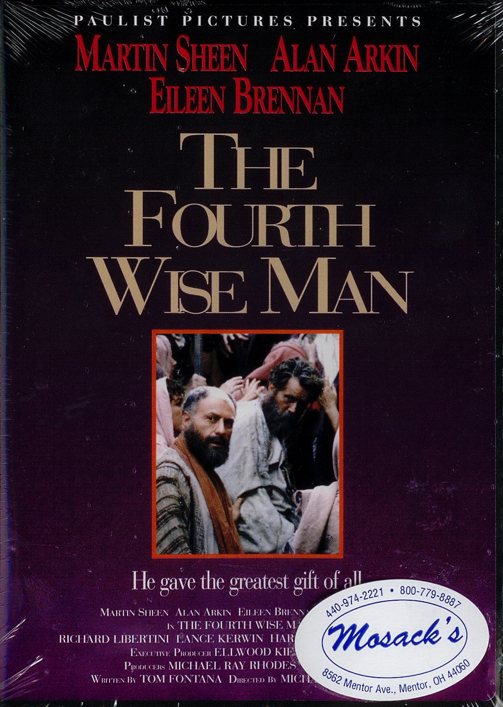 DVD-The Fourth Wise Man, Title; Michael Ray Rhodes, Director