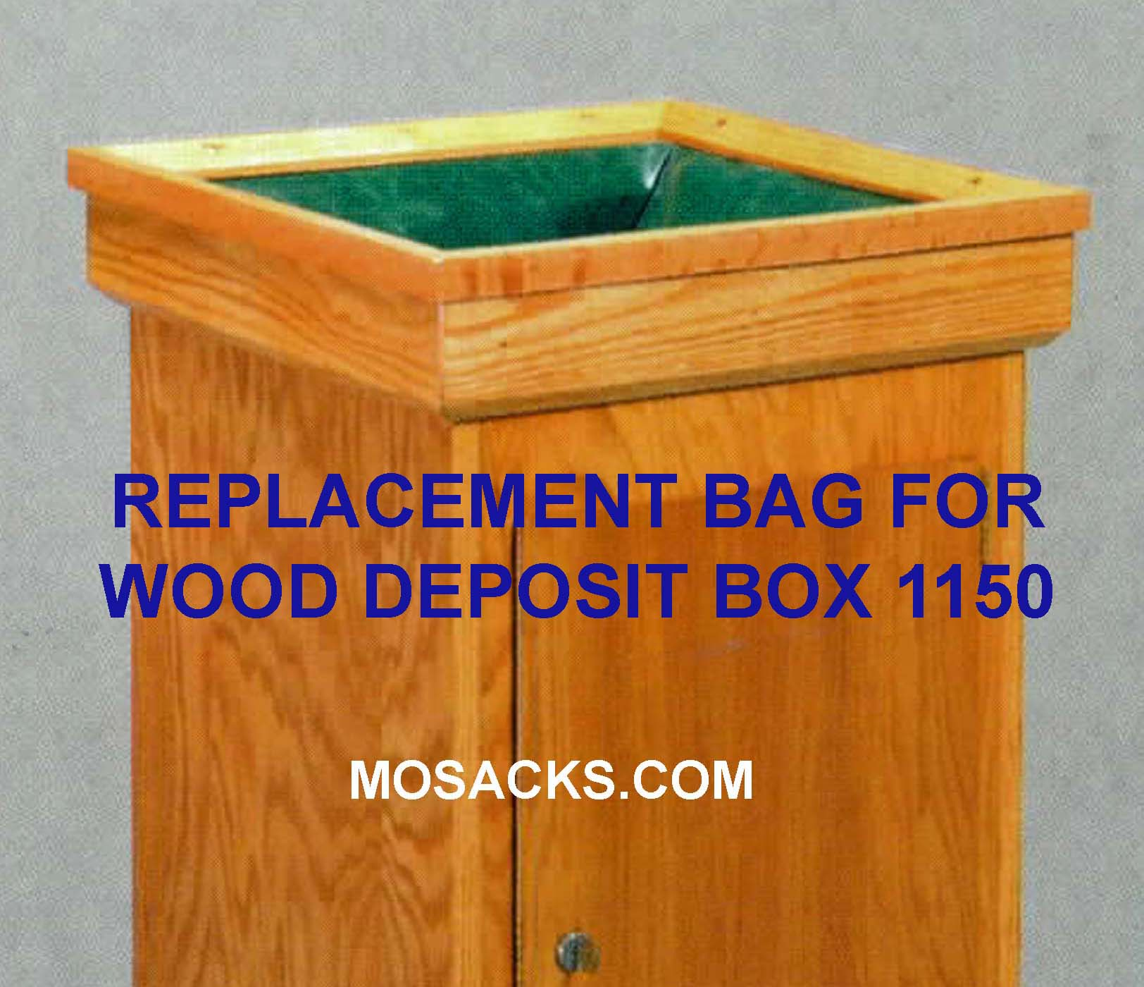 "Replacement Bag 1151 for Deposit Box 18"" w  x 18"" d x 32"" h"