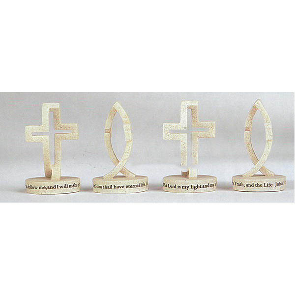 "Dimensions of Christ Mini Figures 5""w x 1.5""D, 2.5"" H 64087"