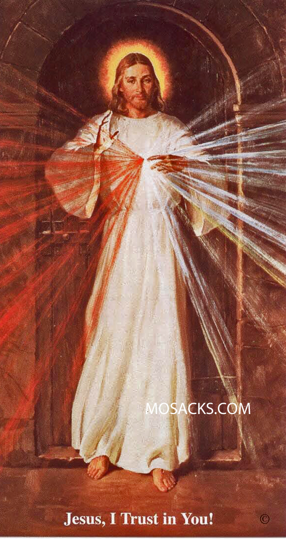 Chaplet of Divine Mercy Prayercard MPC