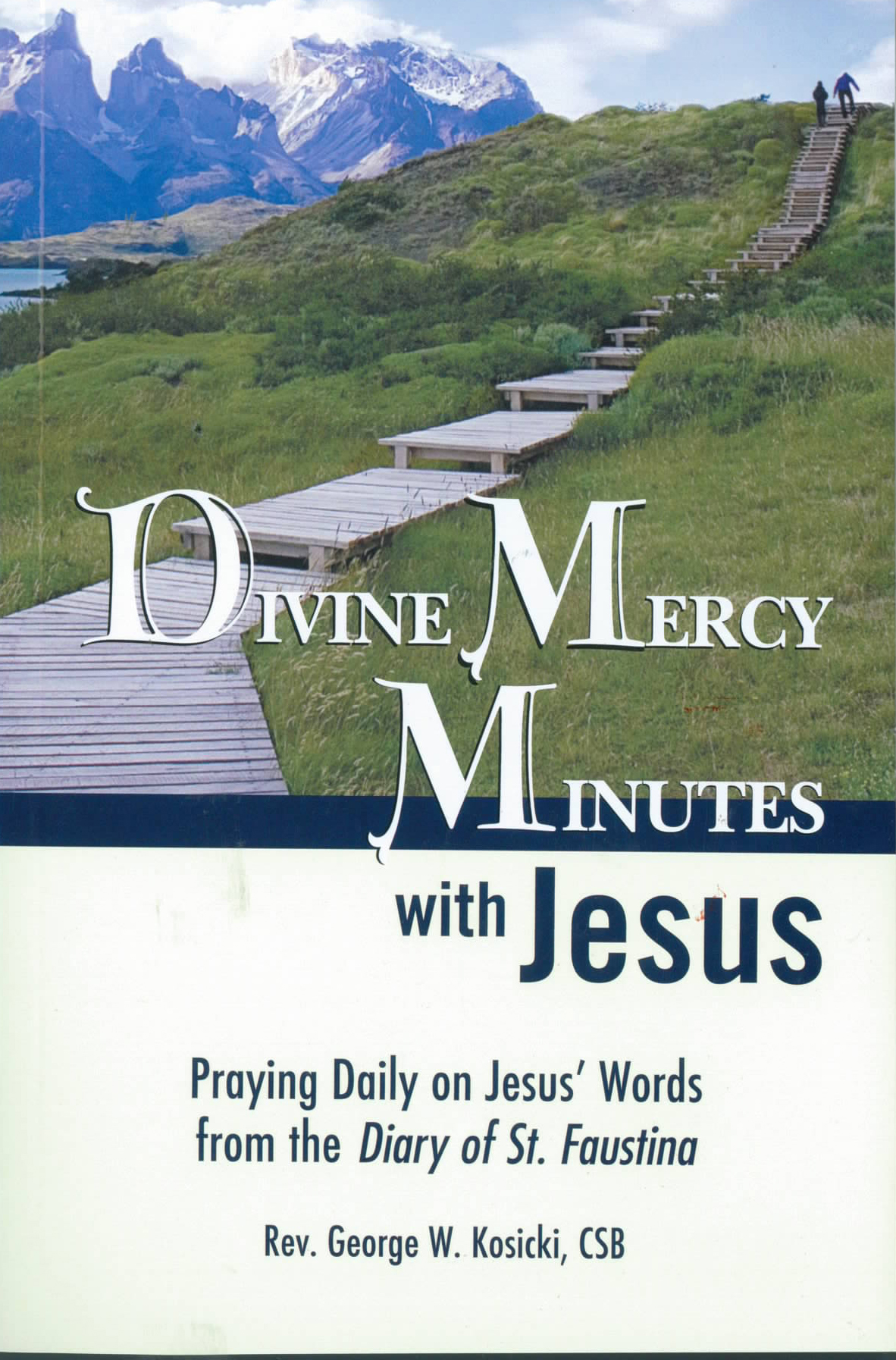 Divine Mercy Minutes with Jesus from Marian Press 252-9781596141933 Kosicki