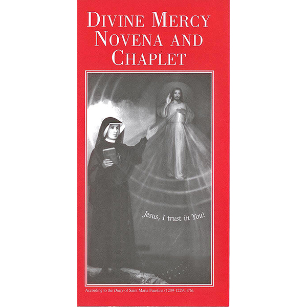 Divine Mercy Novena and Chaplet Pamphlet 9781596140363 LFMCN