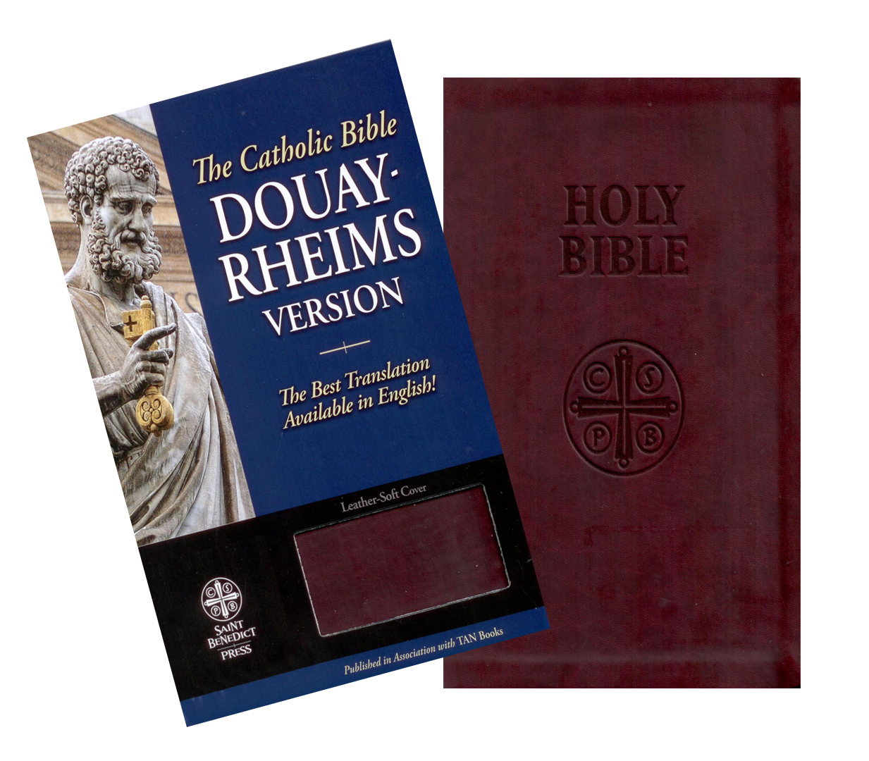 The Douay-Rheims Catholic Bible Ultra-Soft Burgundy Cover SB2025