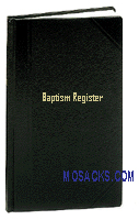 Baptism Register No. 23 Economy Edition