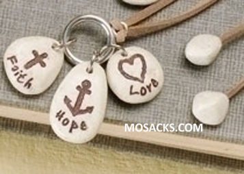 FaithStones 3 Stone Bookmark Faith Hope Love-47728