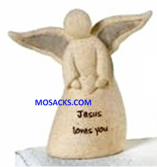 FaithStones Angel Jesus Loves You-41211