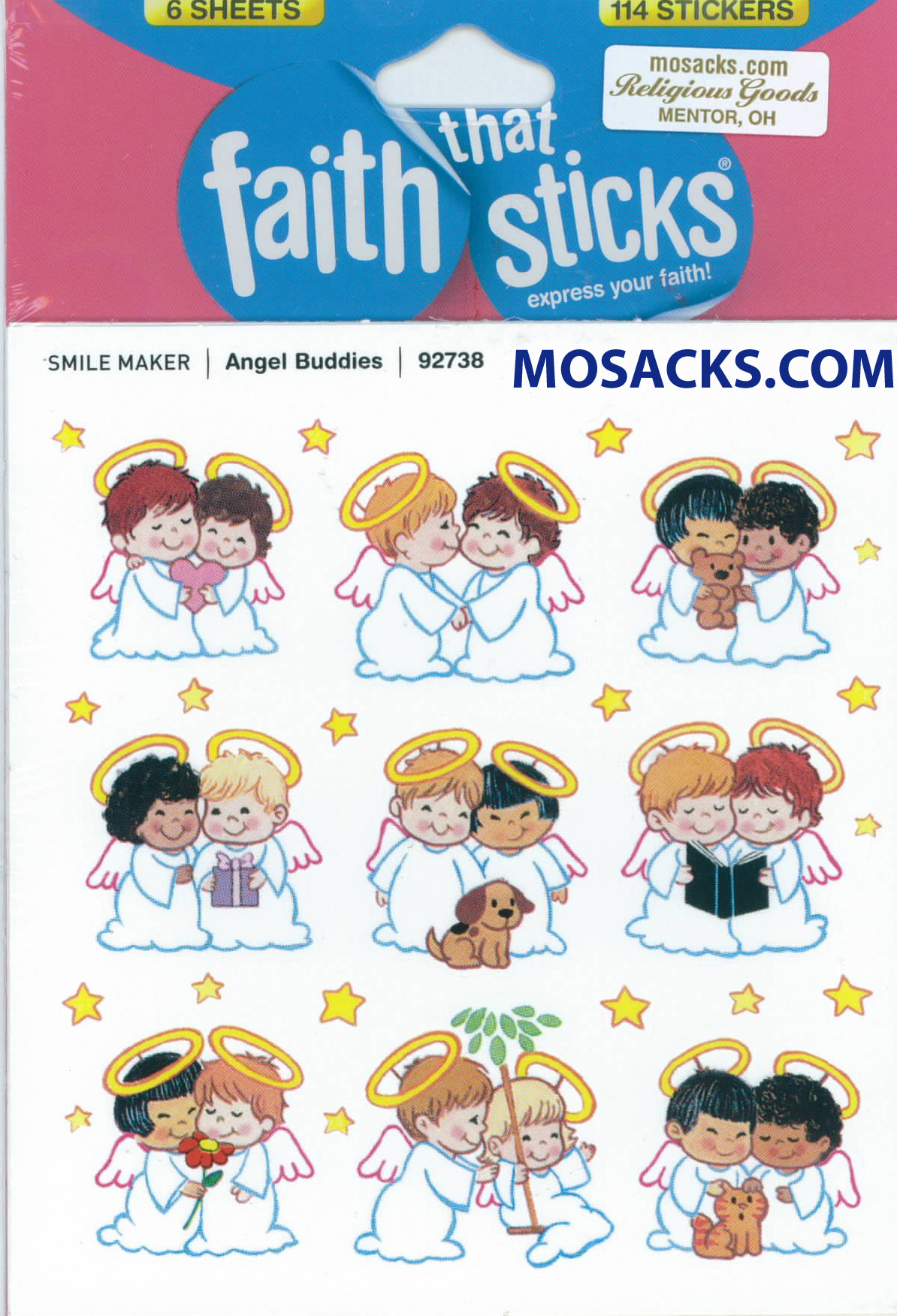 Faith That Sticks Angel Buddies 87-92738