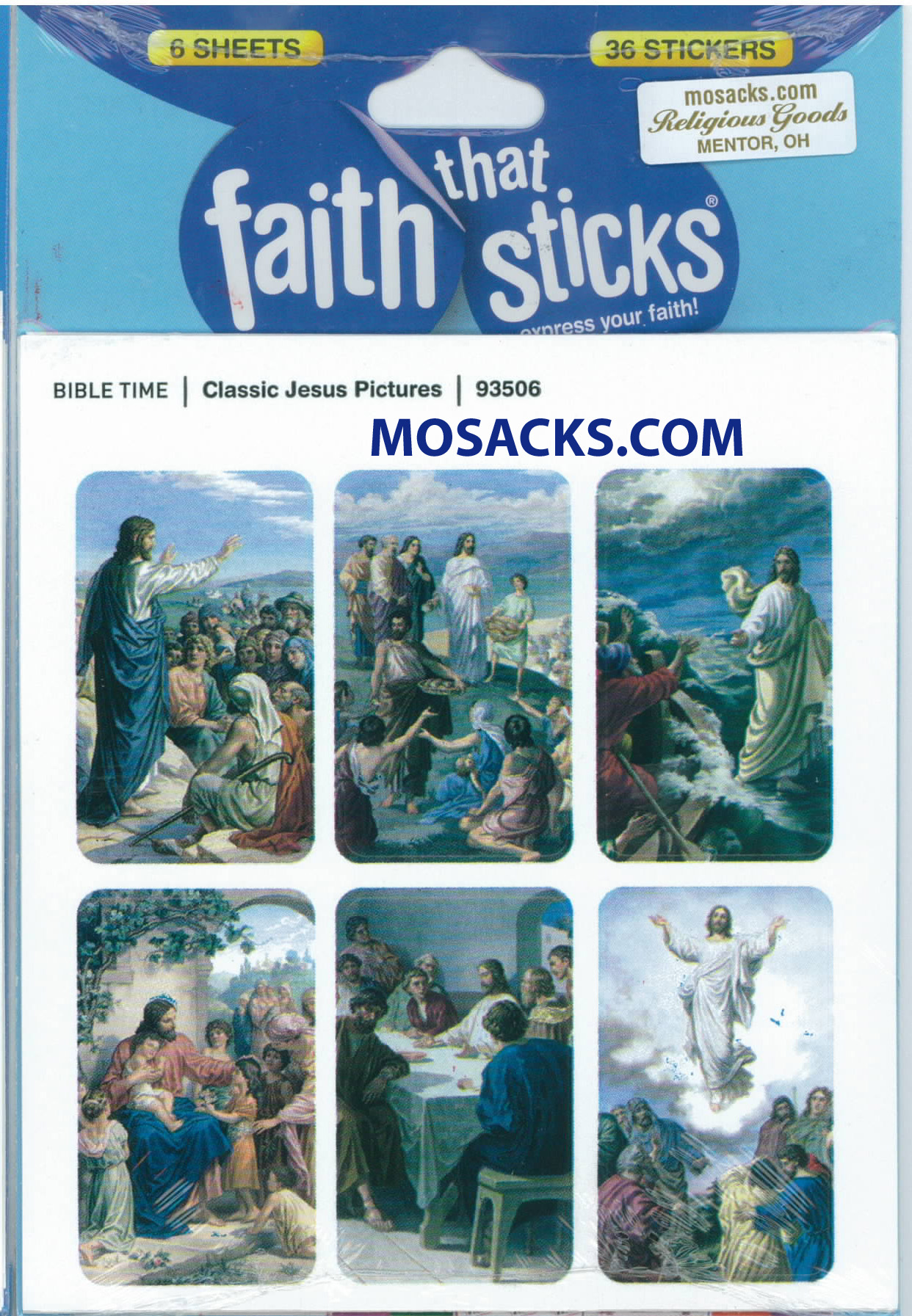 Faith That Sticks Classic Jesus Pictures 87-93506